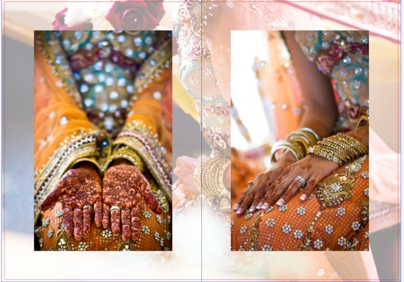 Asian Wedding Essex London Photography Storybook Album Design